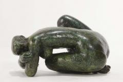Antoniucci Volti Antoniucci Volti Sculpture in bronze with a beautiful patina - 1177720