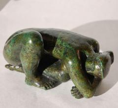 Antoniucci Volti Antoniucci Volti Sculpture in bronze with a beautiful patina - 1177722
