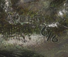 Antoniucci Volti Antoniucci Volti Sculpture in bronze with a beautiful patina - 1177785