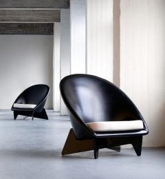 Antti Nurmesniemi Pair of Antti Nurmesniemi Lounge Chairs Designed for Hotel Palace Finland 1952 - 1754946