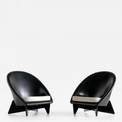 Antti Nurmesniemi Pair of Antti Nurmesniemi Lounge Chairs Designed for Hotel Palace Finland 1952 - 1757015