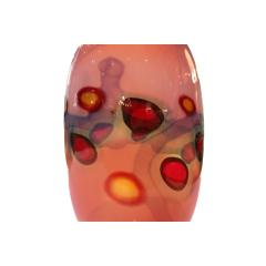 Anzolo Fuga Anzolo Fuga Exceptional Hand Blown Glass Vase with Applied Murrhines 1960s - 406026