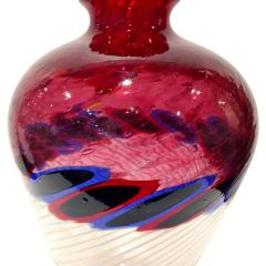 Anzolo Fuga Anzolo Fuga Exceptional Hand Blown Glass Vase with Glass Fragments 1960s - 927193
