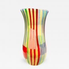 Anzolo Fuga Anzolo Fuga Rare Bandiere Vase with Multicolor Rods 1955 58 - 409575