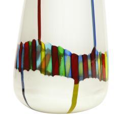 Anzolo Fuga Anzolo Fuga Vase with Multicolor Rods ca 1955 - 2070328