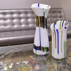 Anzolo Fuga Anzolo Fuga Vase with Multicolor Rods ca 1955 - 2070330