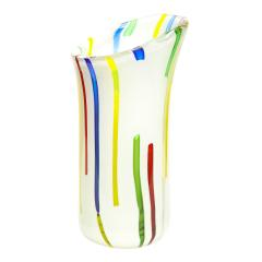 Anzolo Fuga Anzolo Fuga Vase with Vertical Rods 1955 56 - 2070359