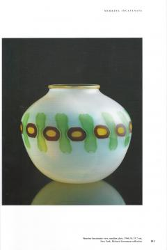 Anzolo Fuga Hand Blown Glass Murrine Incatenate Vase by Anzolo Fuga for A V E M  - 202333