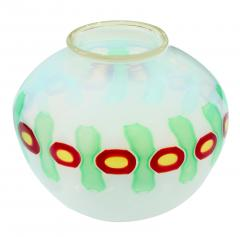 Anzolo Fuga Hand Blown Glass Murrine Incatenate Vase by Anzolo Fuga for A V E M  - 202337