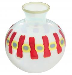 Anzolo Fuga Hand Blown Glass Murrine Incatenate Vase by Anzolo Fuga for A V E M  - 202374