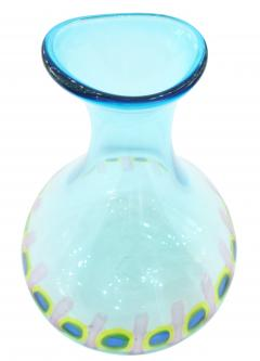 Anzolo Fuga Hand Blown Glass Murrine Incatenate Vase by Anzolo Fuga for A V E M  - 202388