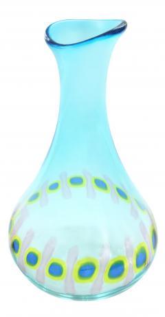 Anzolo Fuga Hand Blown Glass Murrine Incatenate Vase by Anzolo Fuga for A V E M  - 202389