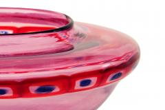 Anzolo Fuga Hand Blown Glass Vase wtih Multicolor Murrhines by Anzolo Fuga for A V E M  - 202263
