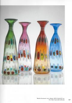 Anzolo Fuga Rare set of Hand Blown Glass Vases by Anzolo Fuga for A V E M  - 202184