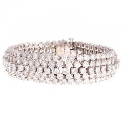 Approximately 24 Carat Diamond Gold Bracelet - 418020