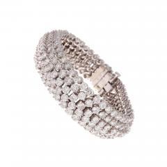 Approximately 24 Carat Diamond Gold Bracelet - 419111