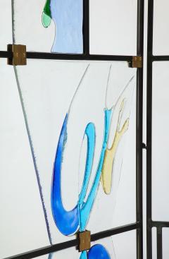 Arberto Toini Italian Murano glass screen by Alberto Toini - 1203322