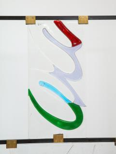 Arberto Toini Italian Murano glass screen by Alberto Toini - 1203328