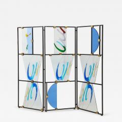Arberto Toini Italian Murano glass screen by Alberto Toini - 1204881