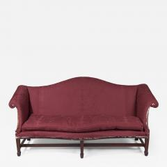 Arched Crest Serpentine Front Sofa New York or Philadelphia - 1407197