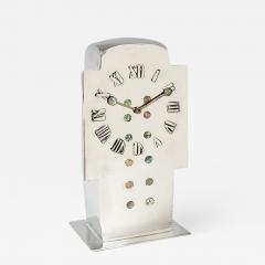 Archibald Knox English Art Nouveau Tudric Clock by Archibald Knox - 1022320