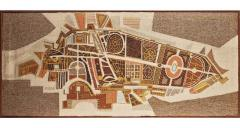 Archie Brennan Woolwork Tapestry Panel Boboli I By Archie Brennan For Edinburgh Weavers - 468471