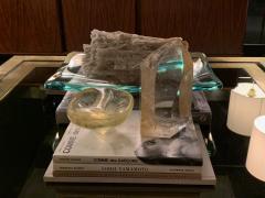 Archimede Seguso Archimede Seguso Bowl Ashtray In Yellow Glass Murano Italy 1950s - 1989229