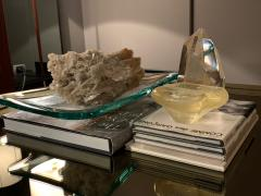 Archimede Seguso Archimede Seguso Bowl Ashtray In Yellow Glass Murano Italy 1950s - 1989232
