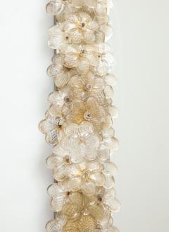 Archimede Seguso Hand Blown Murano Glass 1950s Wall Mirror - 1833489