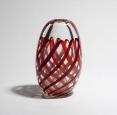 Archimede Seguso Nastro Richiamato Vase - 618868