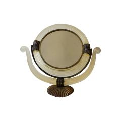 Archimede Seguso Pivoting Mirror in Murano glass by Archimede Seguso - 1458998