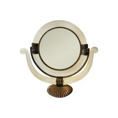 Archimede Seguso Pivoting Mirror in Murano glass by Archimede Seguso - 1459003
