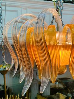 Archimede Seguso STUNNING MURANO GLASS CHANDELIER - 1179539