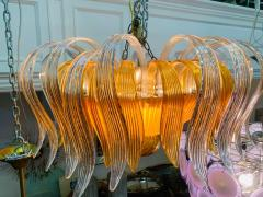 Archimede Seguso STUNNING MURANO GLASS CHANDELIER - 1179540