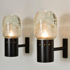 Archimede Seguso Set of two 1950s Italian Seguso bubble wall lights - 1578176