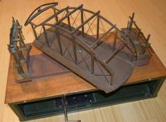 Architectural Patent Design Model of a Swing Bridge - 885300