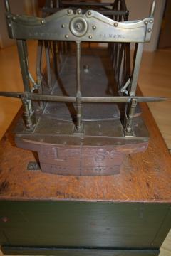 Architectural Patent Design Model of a Swing Bridge - 885302