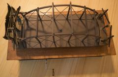 Architectural Patent Design Model of a Swing Bridge - 885303