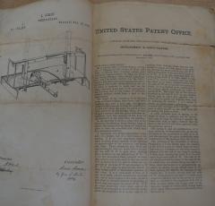 Architectural Patent Design Model of a Swing Bridge - 885305