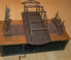 Architectural Patent Design Model of a Swing Bridge - 885307