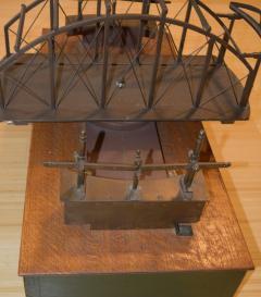 Architectural Patent Design Model of a Swing Bridge - 885308