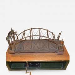 Architectural Patent Design Model of a Swing Bridge - 885810