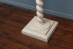 Architectural Plaster Floor Lamps after Michael Taylor - 1876184