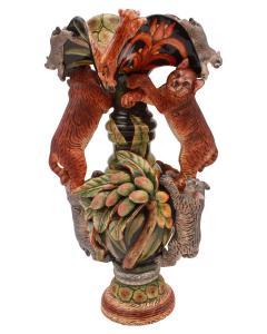 Ardmore Ceramic Art Bobcat Vase - 1626149