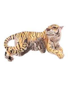 Ardmore Ceramic Art Tiger And Cub Sculpture - 1648719
