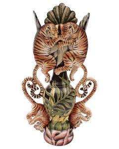 Ardmore Ceramic Art Tiger Vase - 1626147