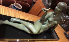 Armand Godard Art Deco Sculpture A Bird in the Hand by Armand Godard - 1386972
