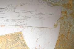 Armand Jonckers Stunning Acid Etched Brass Coffee Table Abstraction by Armand Jonckers - 507336