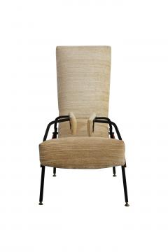 Armchair chaise longue italian production from 50s - 1509919