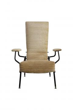 Armchair chaise longue italian production from 50s - 1509920